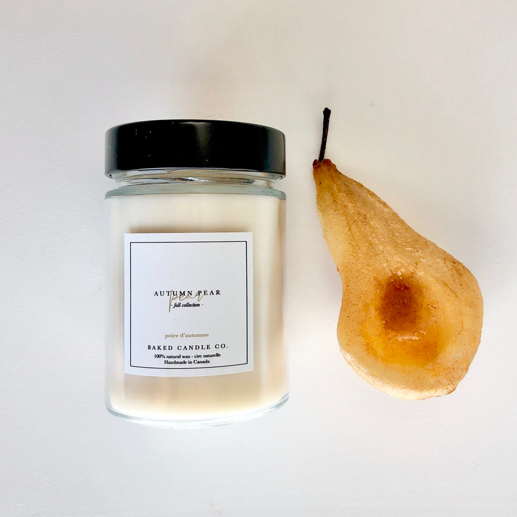 Baked Candles Co. - Autumn Pear