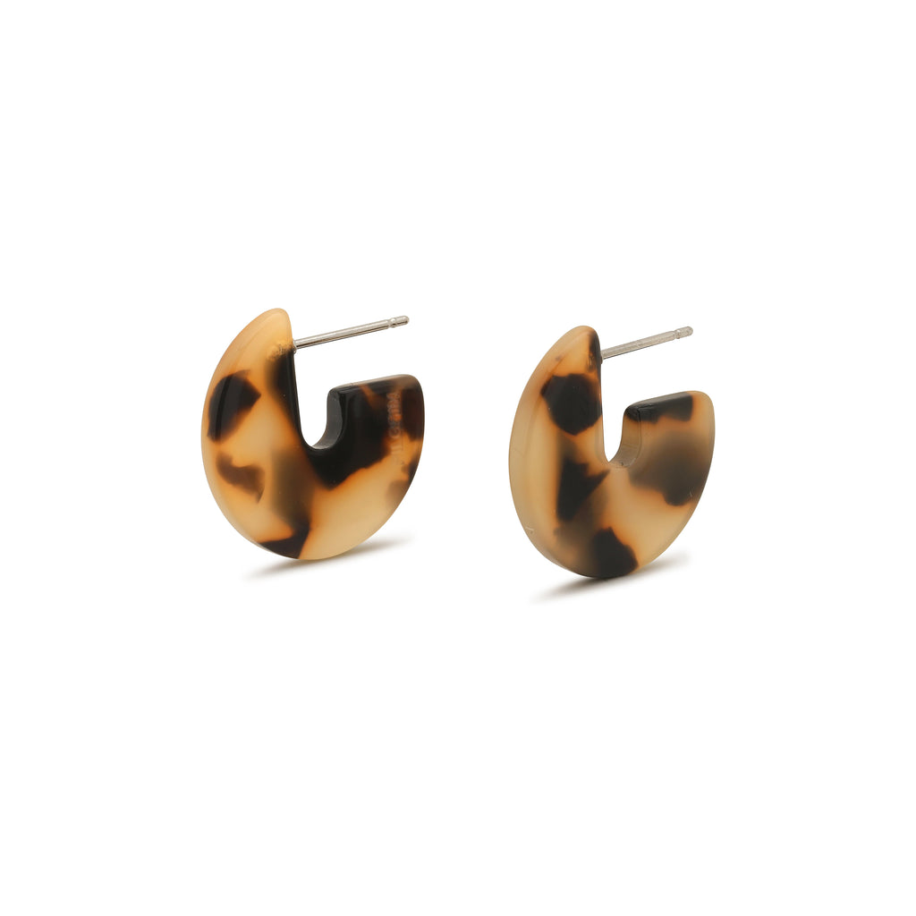 Pilgrim - Mika Earrings in Brown