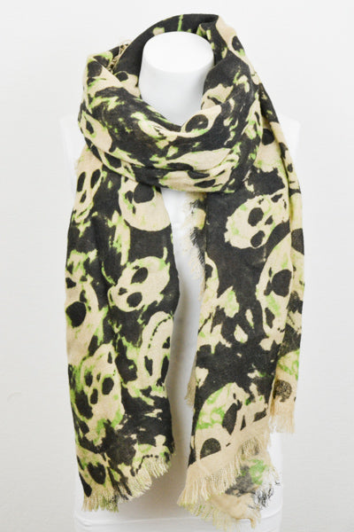 Skull Camouflage Scarf