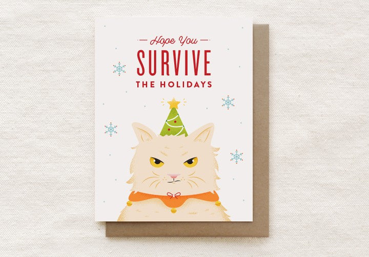 Grumpy Cat Holiday Card