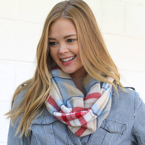 Infinity Scarf Collection - Vintage Americana