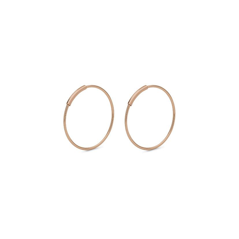 Pilgrim - Raquel Small Earrings in Rose Gold