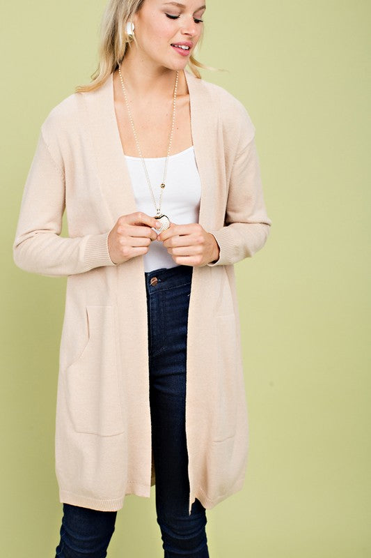 Cozy Open Cardigan
