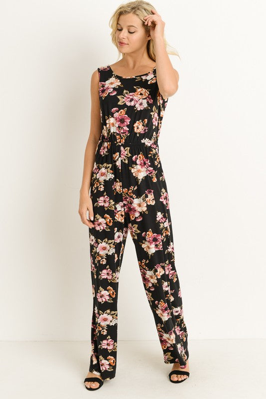 Twist Back Jumpsuit