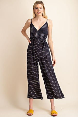 Woven Jumpsuit with Print