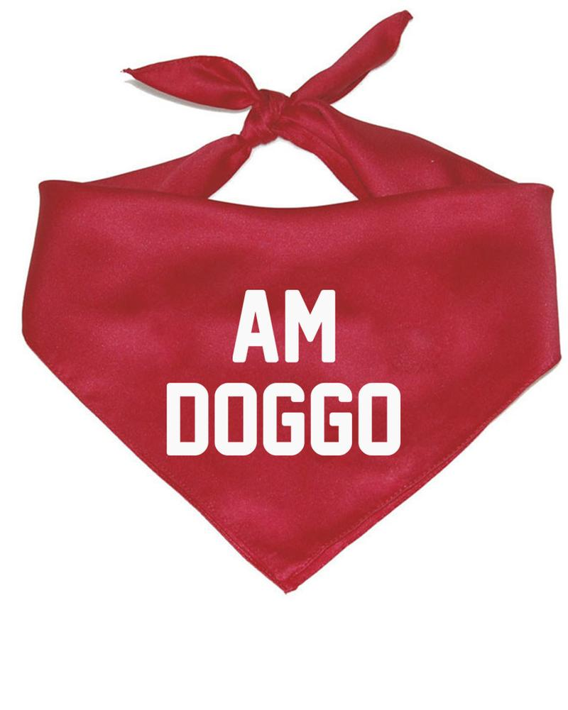 "Arm the Animals - ""Am Doggo"" Pet Bandana"