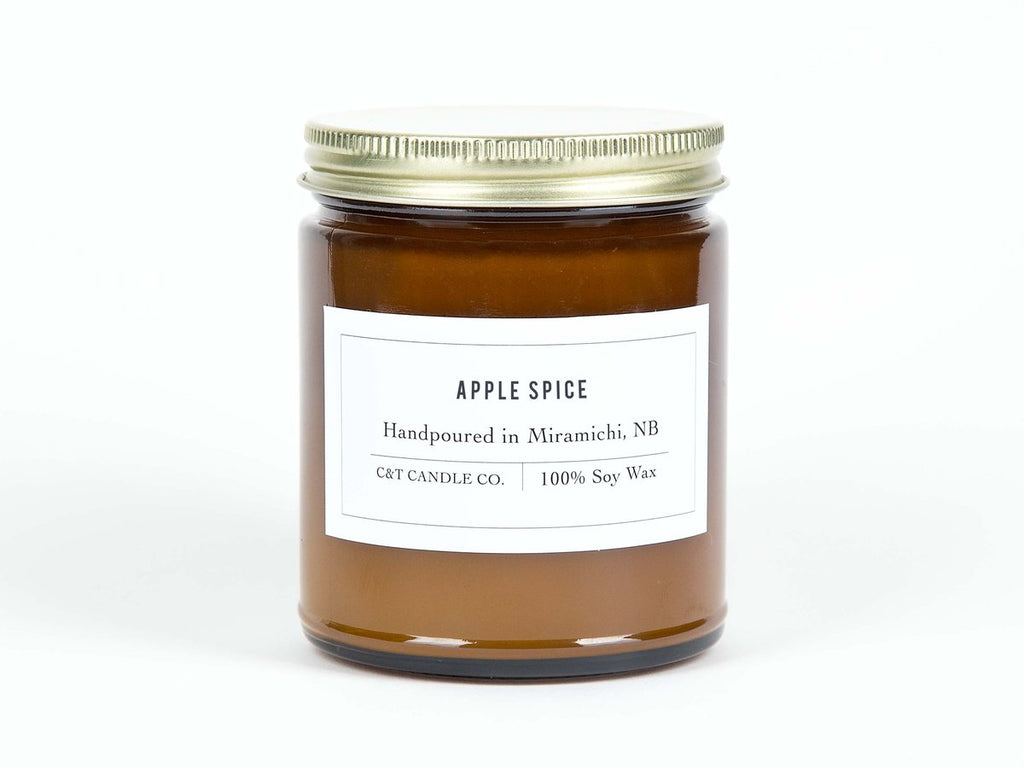 C & T Candles - Apple Spice Candle