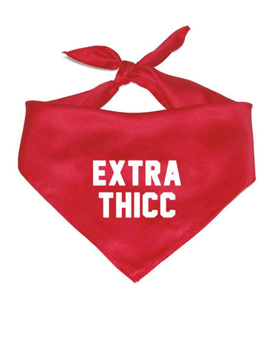 "Arm the Animals - ""Extra Thicc"" Pet Bandana"