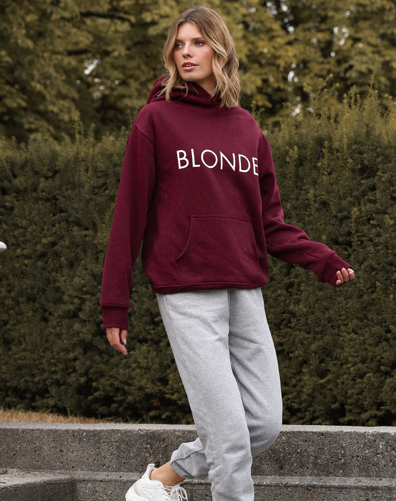 "Brunette The Label - ""Blonde"" Classic Hoodie"