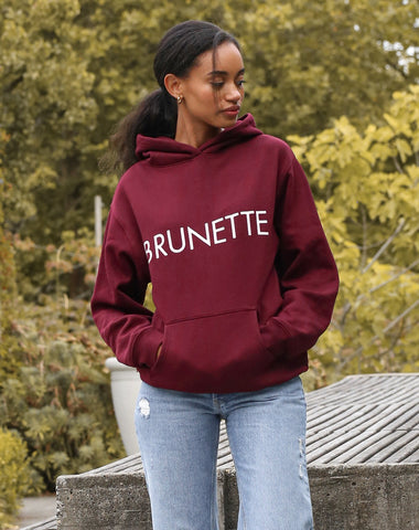 "Brunette The Label - ""Brunette"" Classic Hoodie"