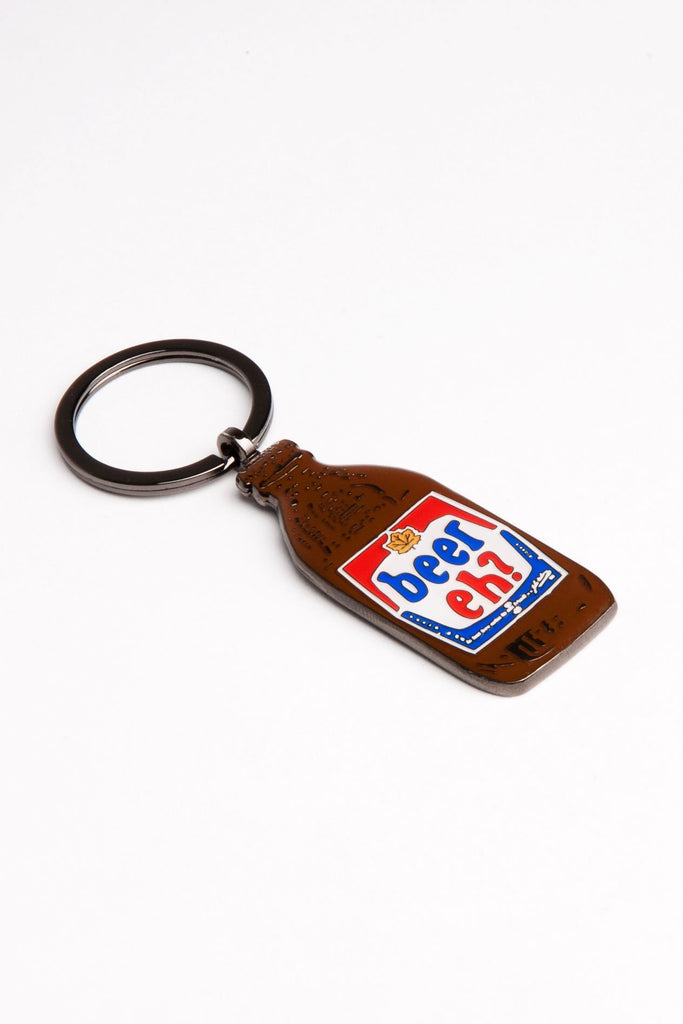 Main and Local - Beer Keychain