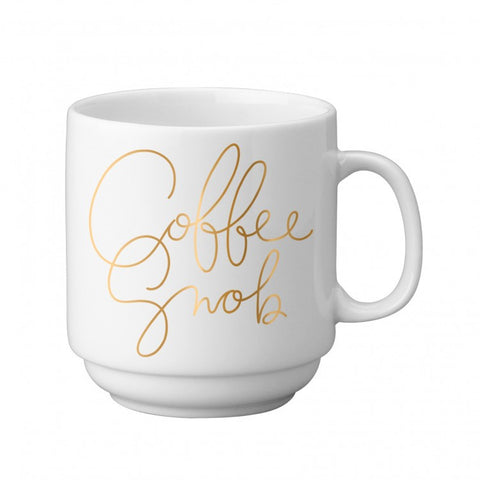 Trendy Coffee Snob Boutique Stackable Mug