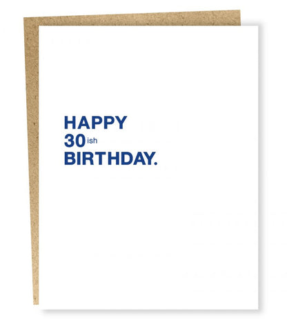 Sapling Press - Make A Wish: 30ish Birthday Card
