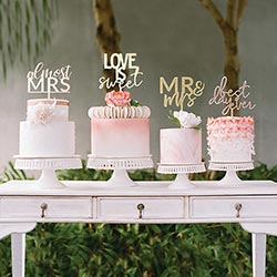 """Love is Sweet"" Acrylic Cake Topper"