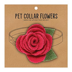 Small Pet Collar Flower