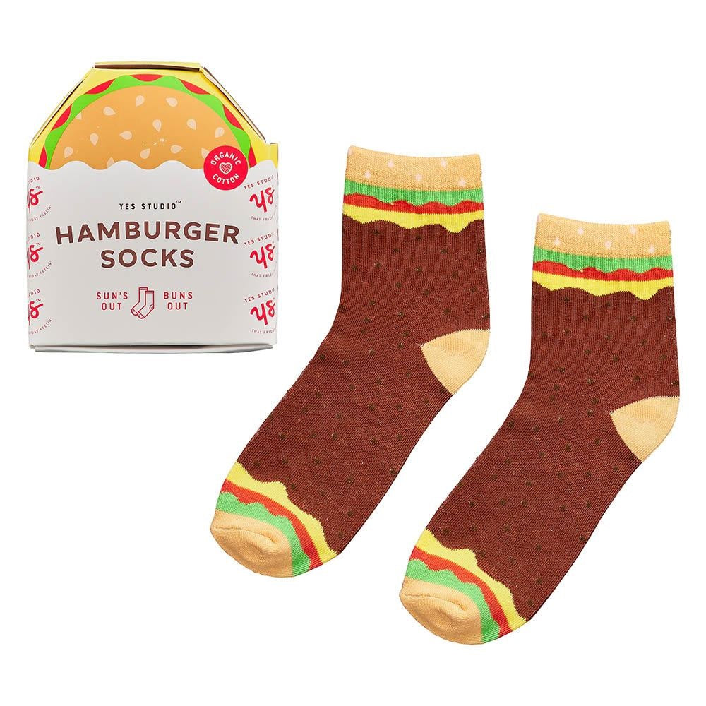 Organic Hamburger Socks