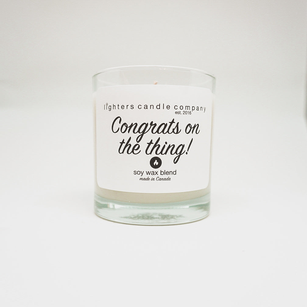 Lighters Candle Co. - Congrats on the Thing!
