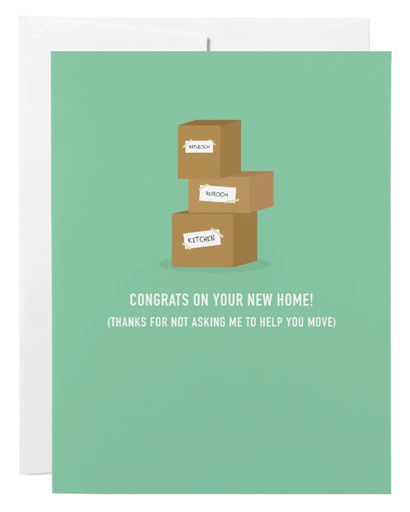 Congrats on your New Home Card