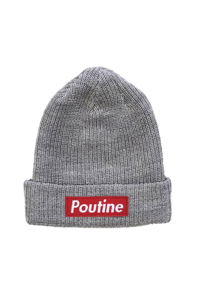 Main And Local - Poutine Beanie in Grey