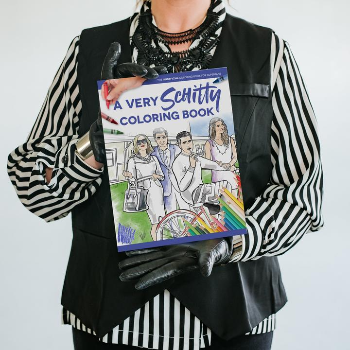 "Schitt's Creek ""A Very Schitty Coloring Book"""