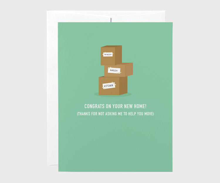 Classy Cards - Moving Boxes