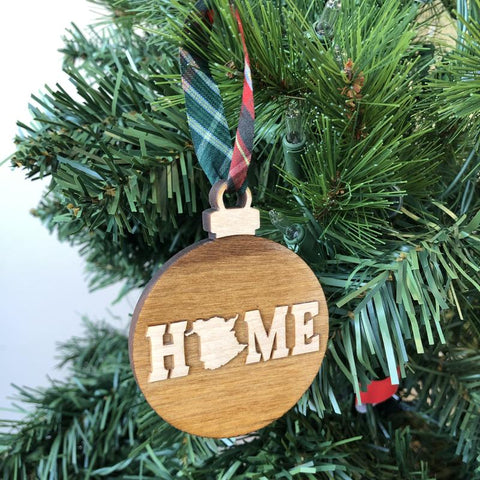 My Home Apparel - New Brunswick HOME Wooden Ornament