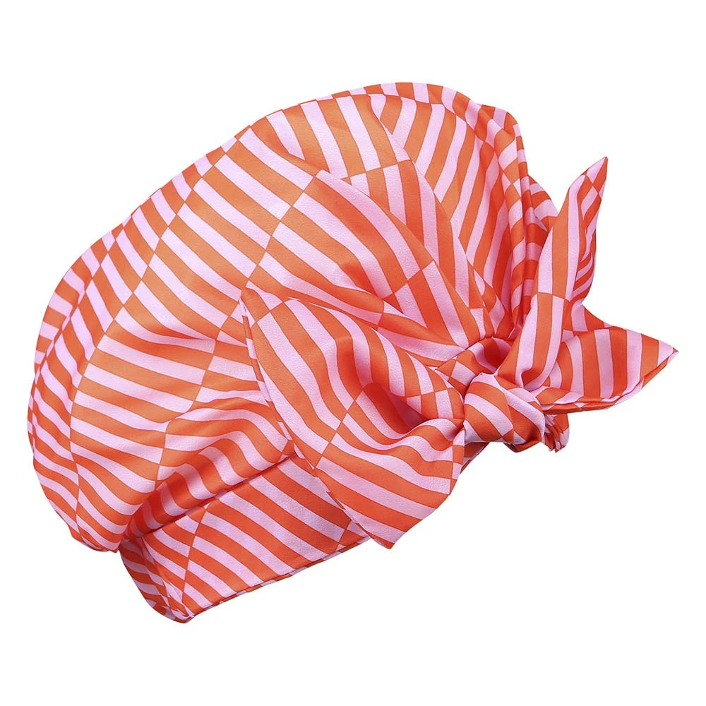 Patterned Shower Cap