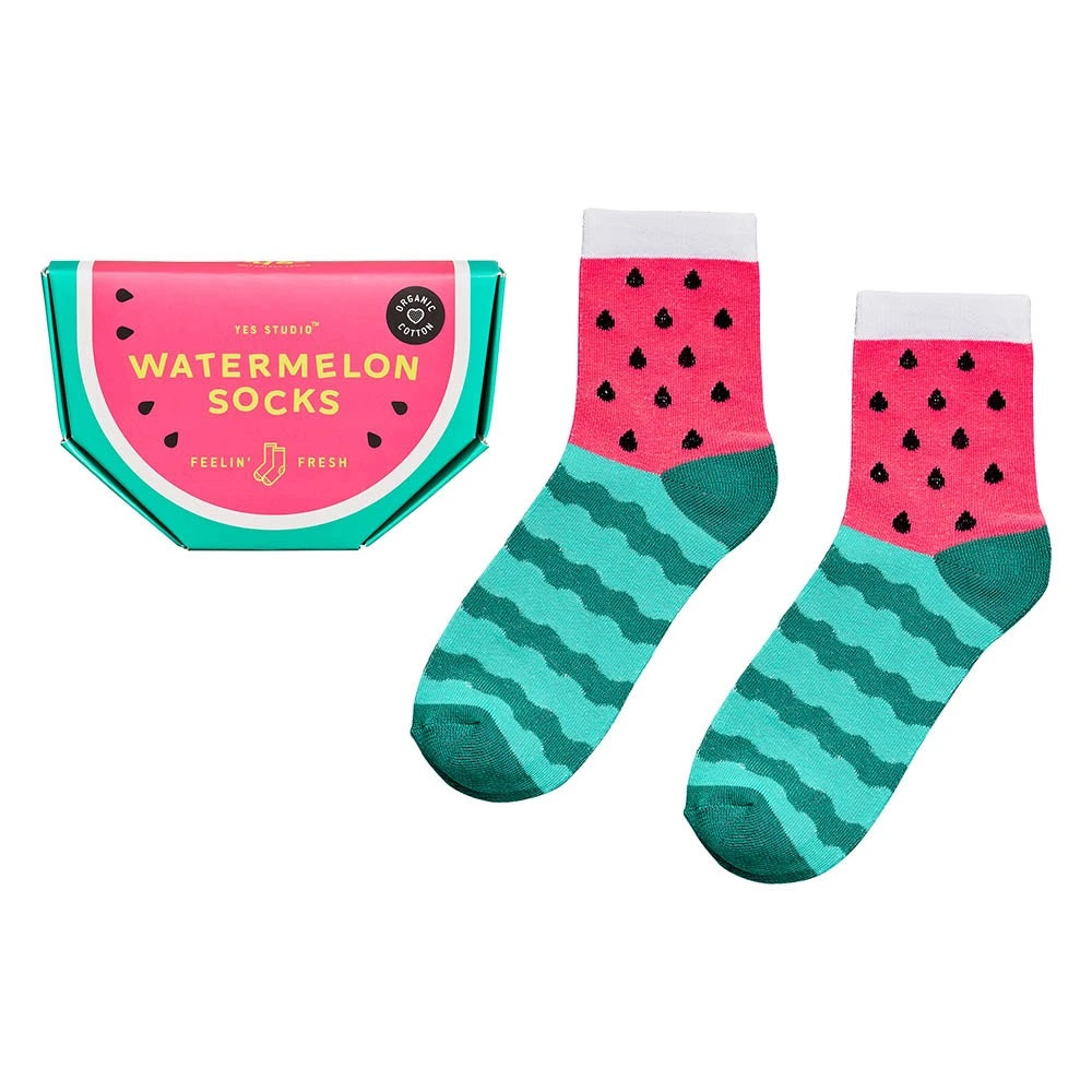 Organic Watermelon Socks