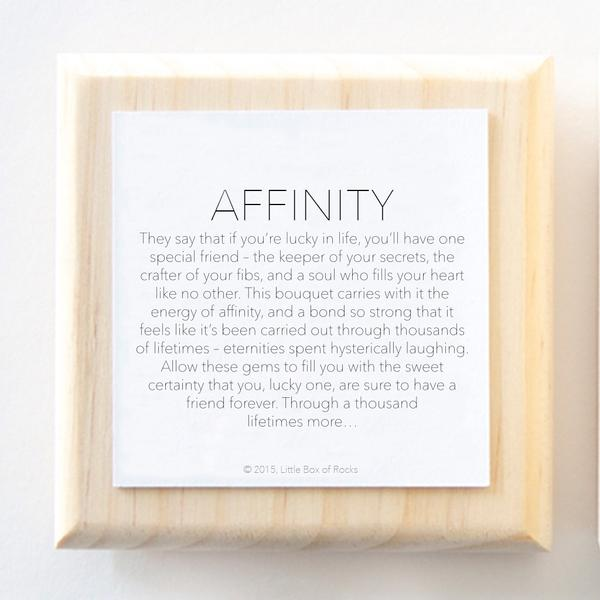 Little Box Of Rocks - Affinity (Friendship)