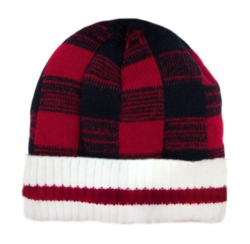 Buffalo Plaid Toque