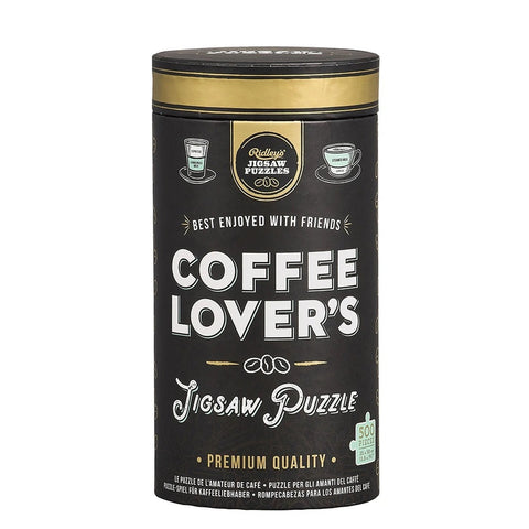 Coffee Lover's 500 Piece Puzzle