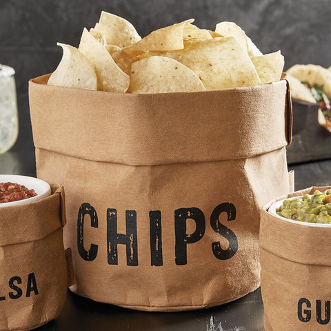 """Chips"" Washable Paper Holder"