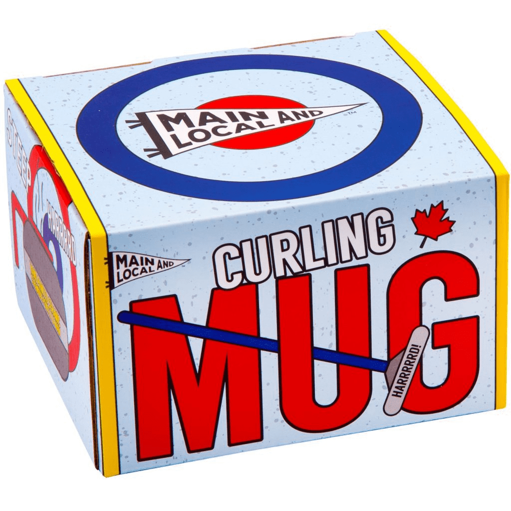 Main and Local - Curling Rock Mug