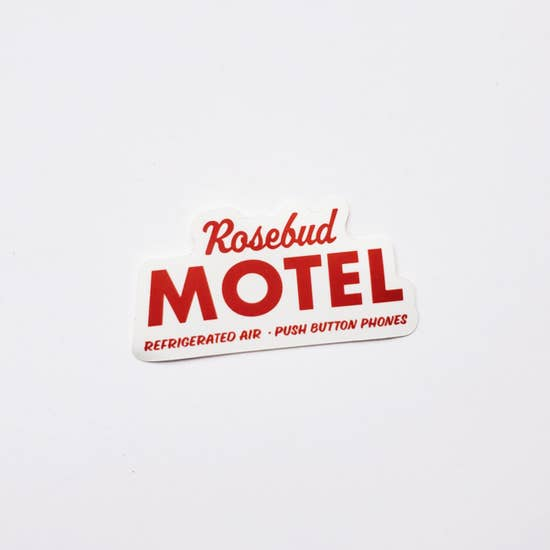 Schitt's Creek - RoseBud Motel Single Sticker