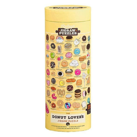 Donut Lovers 1000 Piece Puzzle