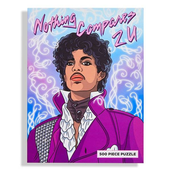 """Nothing Compares 2 U"" Prince Puzzle"