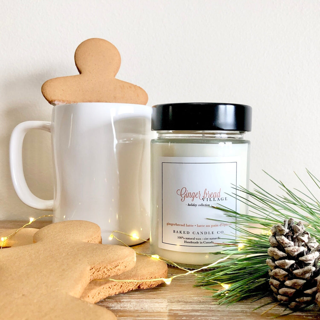 Gingerbread Village 10oz Soy Candle