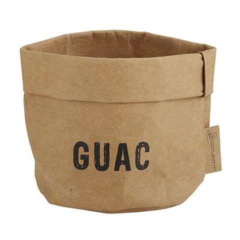"""Guacamole"" Washable Paper Holder"