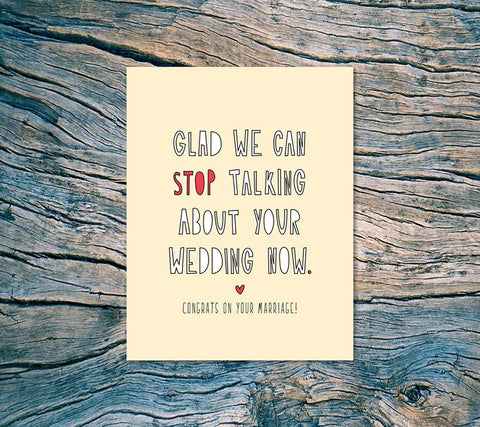 Near Modern Disaster - Stop Talking About Your Wedding