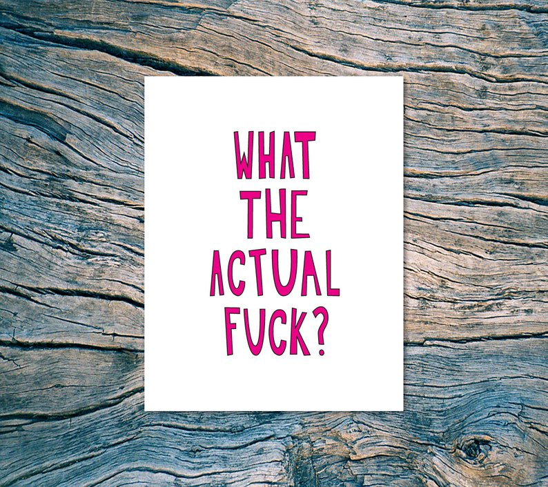 "Near Modern Disaster - ""What The Actual Fuck"""