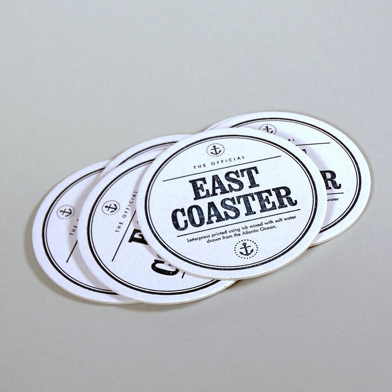 Inkwell Originals - East Coaster Six Pack Drink Coasters