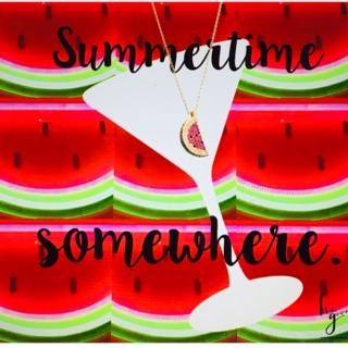 Be The Good - Watermelon Icon Necklace