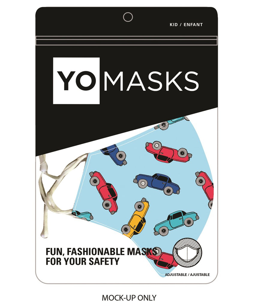 Kids Printed Face Mask