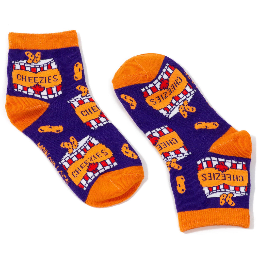 Kids Canadian Cheezies Socks