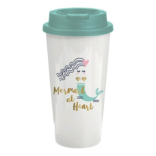 Mermaid Double Wall Travel Tumbler