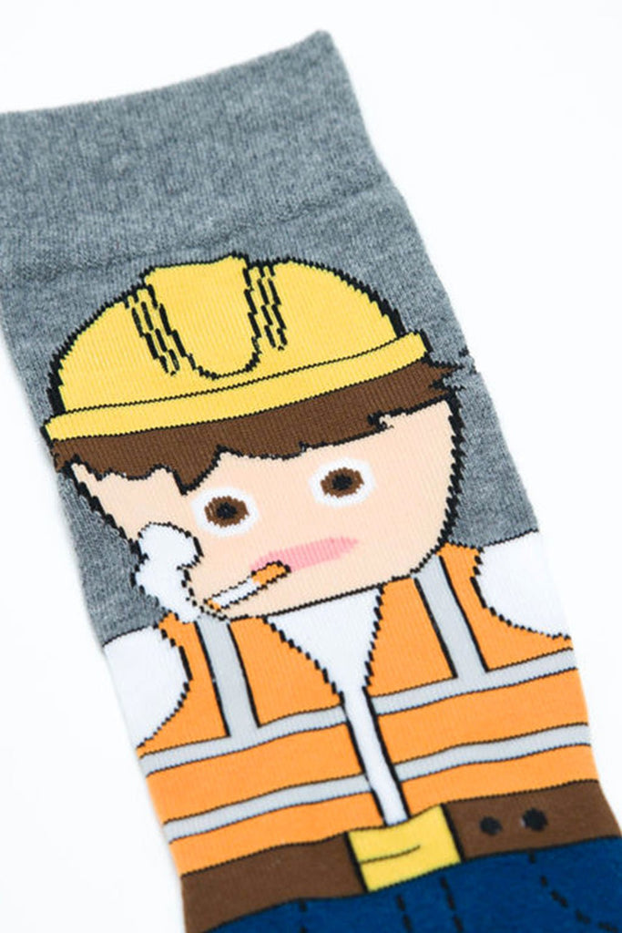 Main & Local - Construction Worker Socks