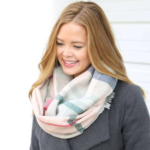 Infinity Scarf Collection - Pink Multi