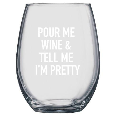 Classy Cards- Tell Me I'm Pretty Glass