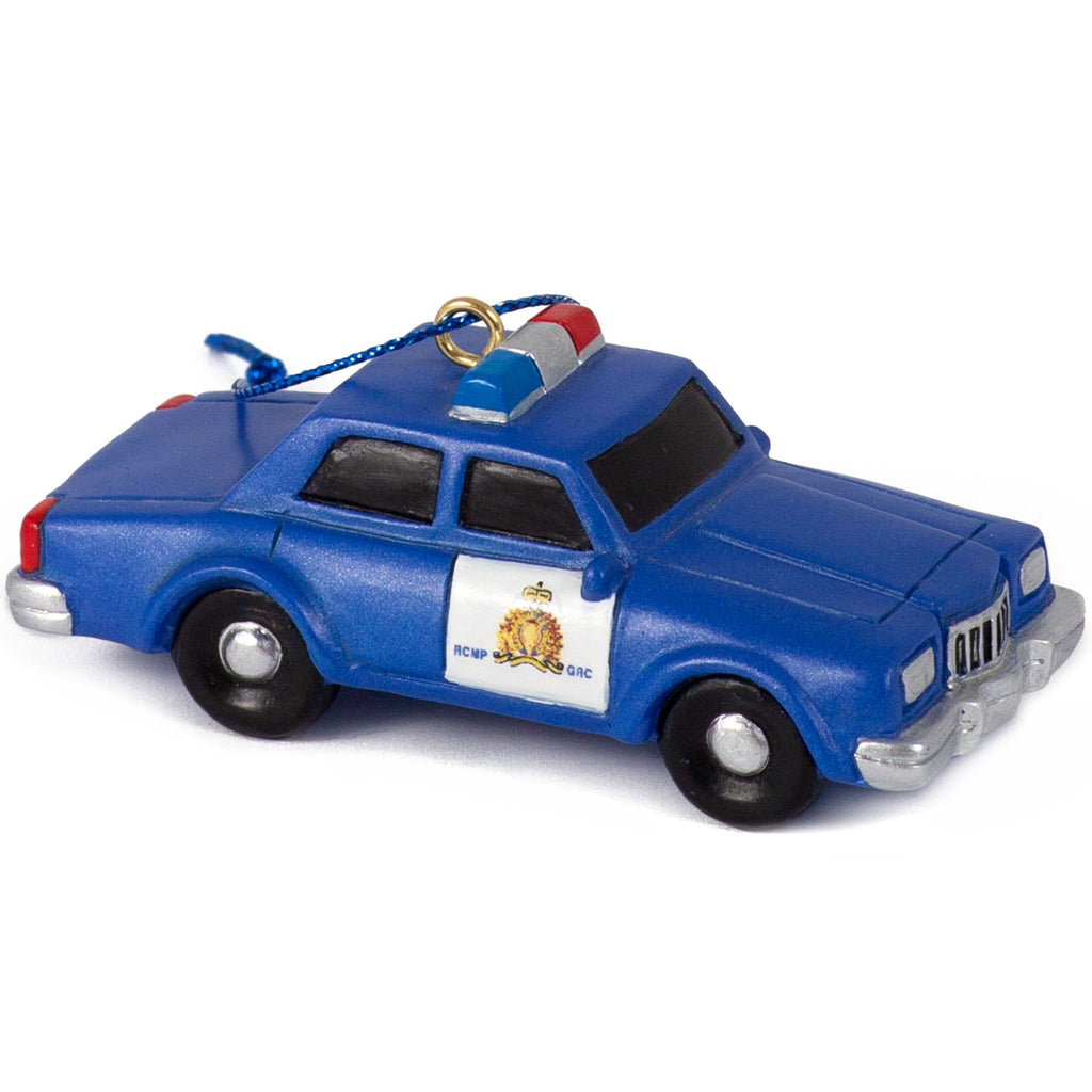 RCMP Retro Patrol Car Ornament