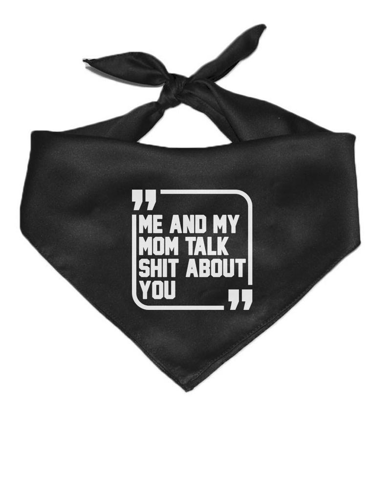 "Arm the Animal - ""Shit Talkers"" Pet Bandana"